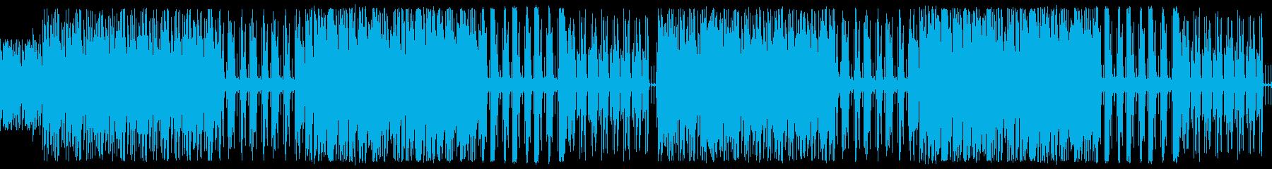 【ループ版】YouTubeリズミカルの再生済みの波形
