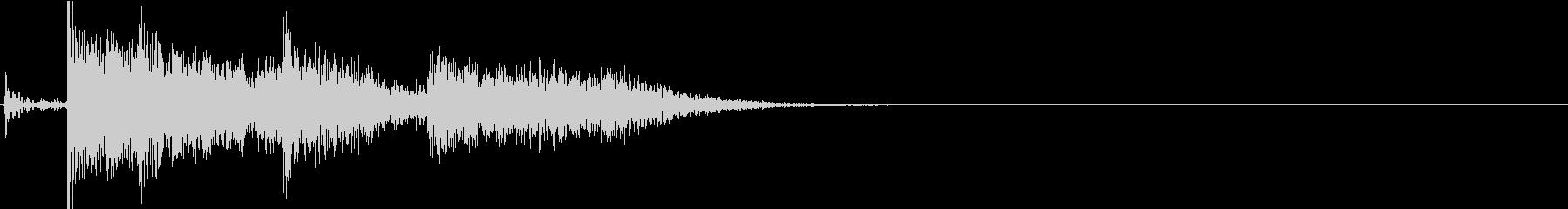 【生録音】刀系武器 アクションSE 1の未再生の波形