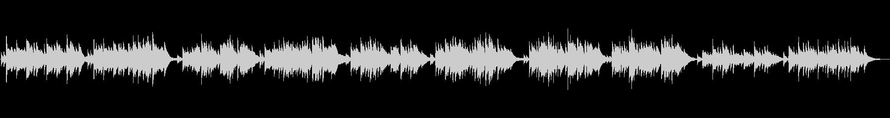 クラシック 中世のの未再生の波形