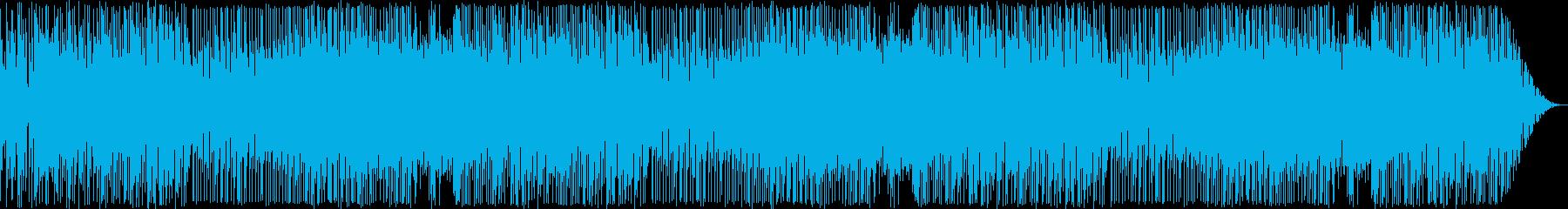 レトロゲーム風ポップで可愛いBGMの再生済みの波形
