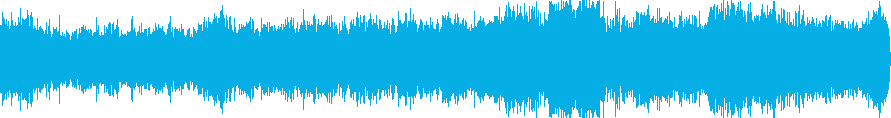 ゲームセンター(環境音)の再生済みの波形