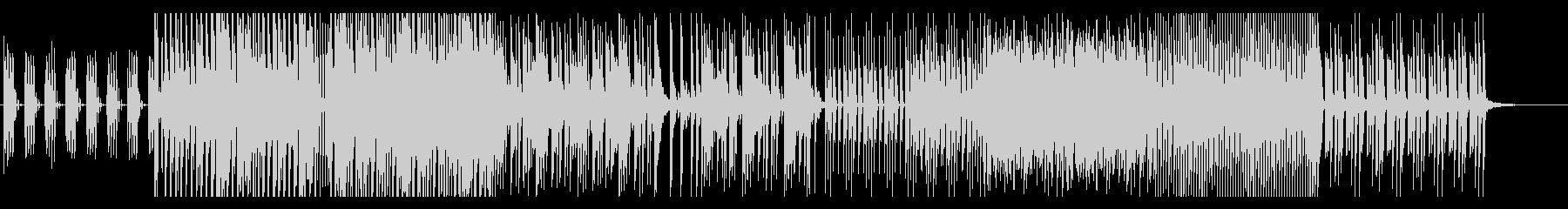 テンションの振り幅が広い曲の未再生の波形