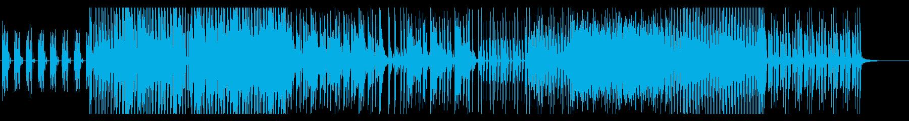 テンションの振り幅が広い曲の再生済みの波形
