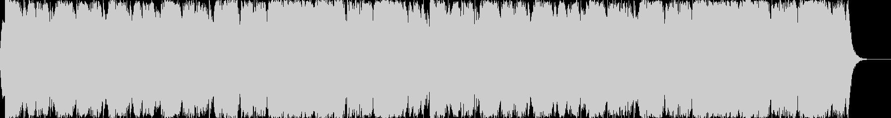 スケールの大きなファンタジーBGMの未再生の波形