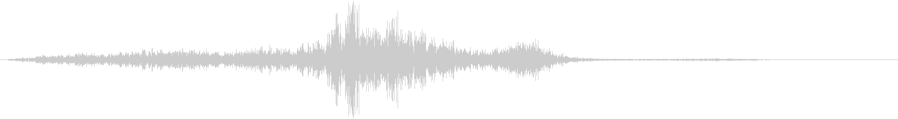 WHOOSHのロークイックランブル1の未再生の波形