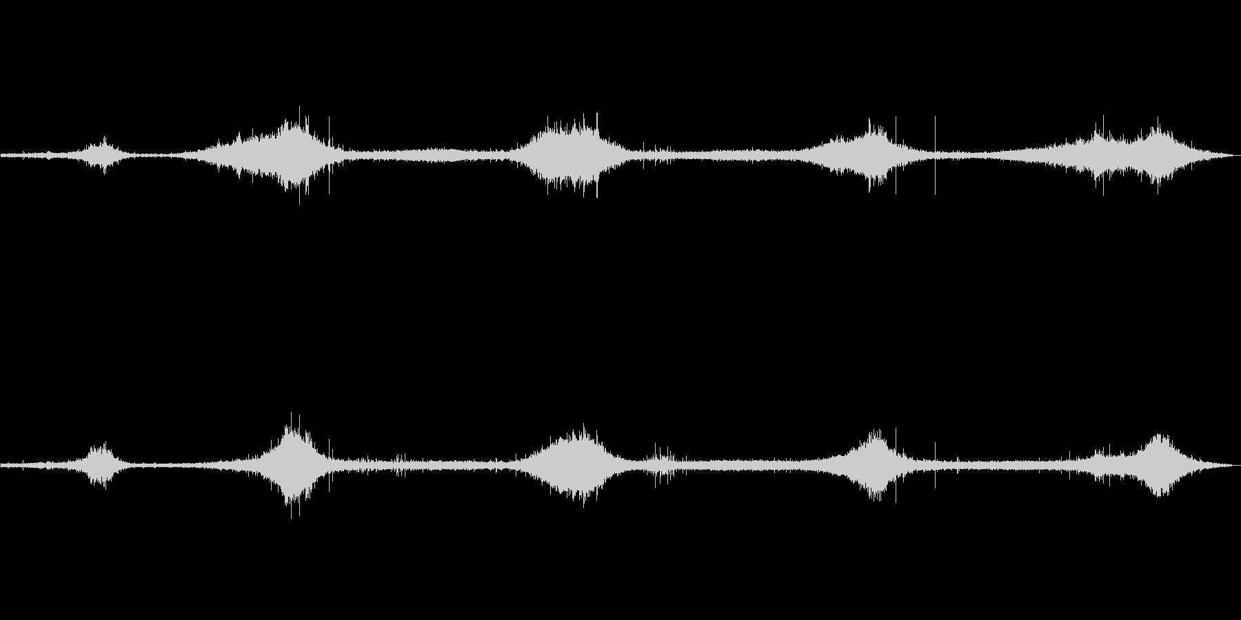 ゴットランド島の波の音 弱め ザザーの未再生の波形