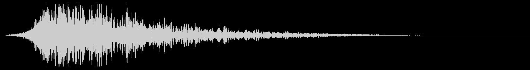 シュードーン-39-1(インパクト音)の未再生の波形