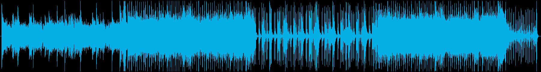 爽やか系アコースティックBGMの再生済みの波形
