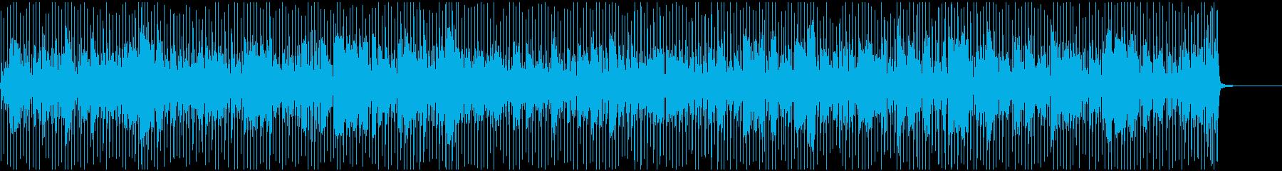 ハーモニカ中心の陽気なブルーグラスの再生済みの波形