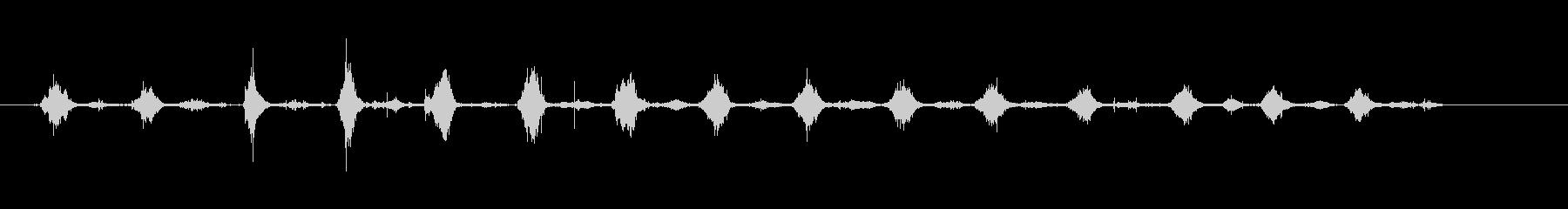 鎌-カッティングヘイ-楽器の未再生の波形