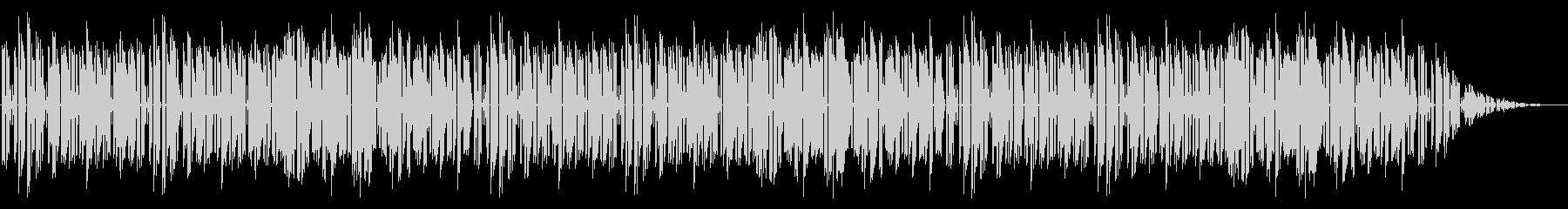 GB風シューティングのステージ曲の未再生の波形