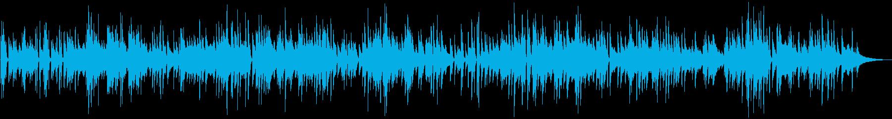 カフェミュージック 爽やかなピアノソロの再生済みの波形