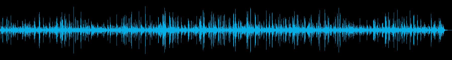 心を落ち着かせる癒しのピアノBGMの再生済みの波形