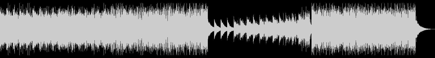 企業VP、CM02。ピアノ、四つ打ちの未再生の波形