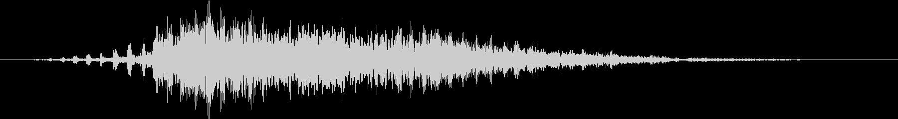 ビリリ・・・(スパーク音)の未再生の波形