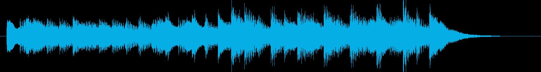アラビア/シタール/エスニック/インドの再生済みの波形