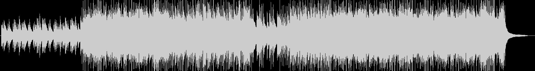 子供が戯れるイメージの和曲の未再生の波形