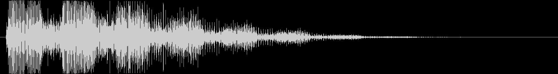 プッ:ラッパの音・失敗・バカにするeの未再生の波形