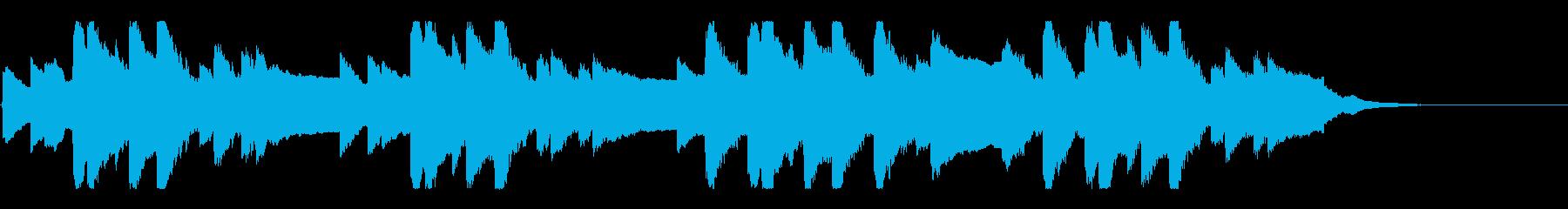 横断歩道 誘導音-5_故郷の空_revの再生済みの波形
