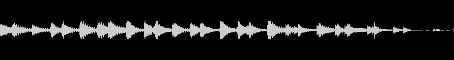 ベルテンプルリング複数lの未再生の波形