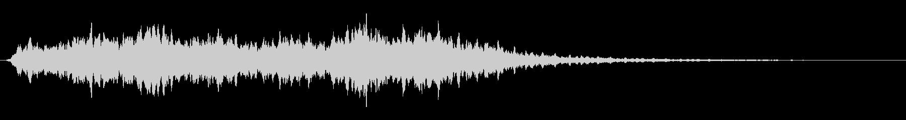 パッド エアリー合唱団03の未再生の波形
