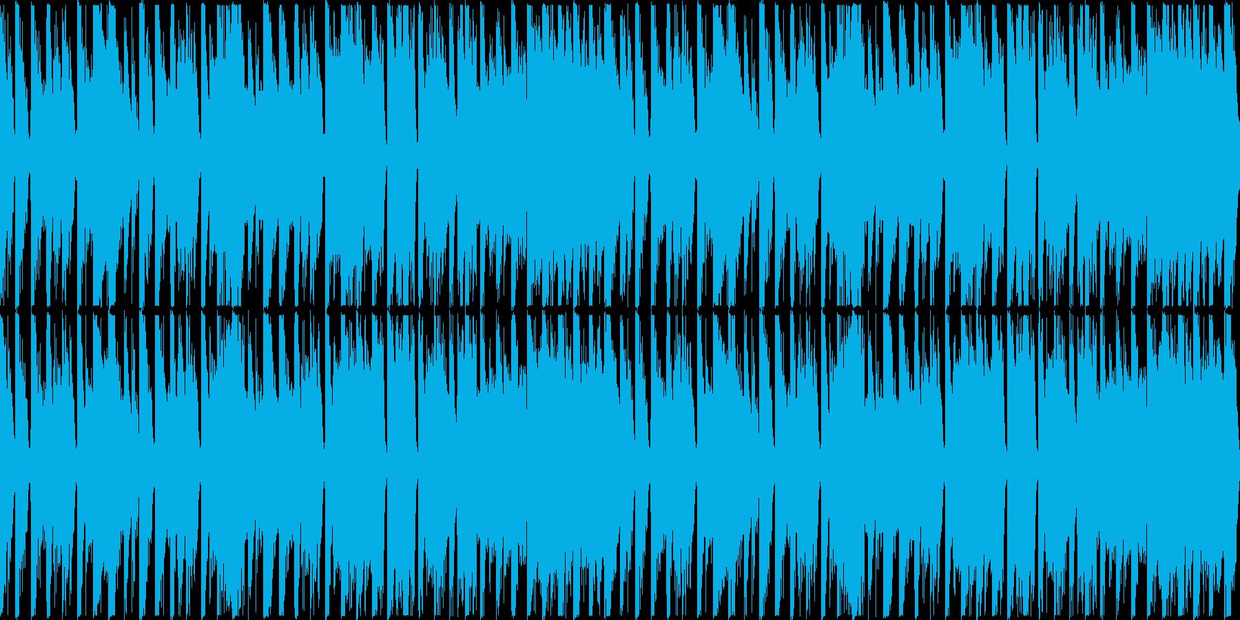 【ループ】レース1位通過のリザルトBGMの再生済みの波形