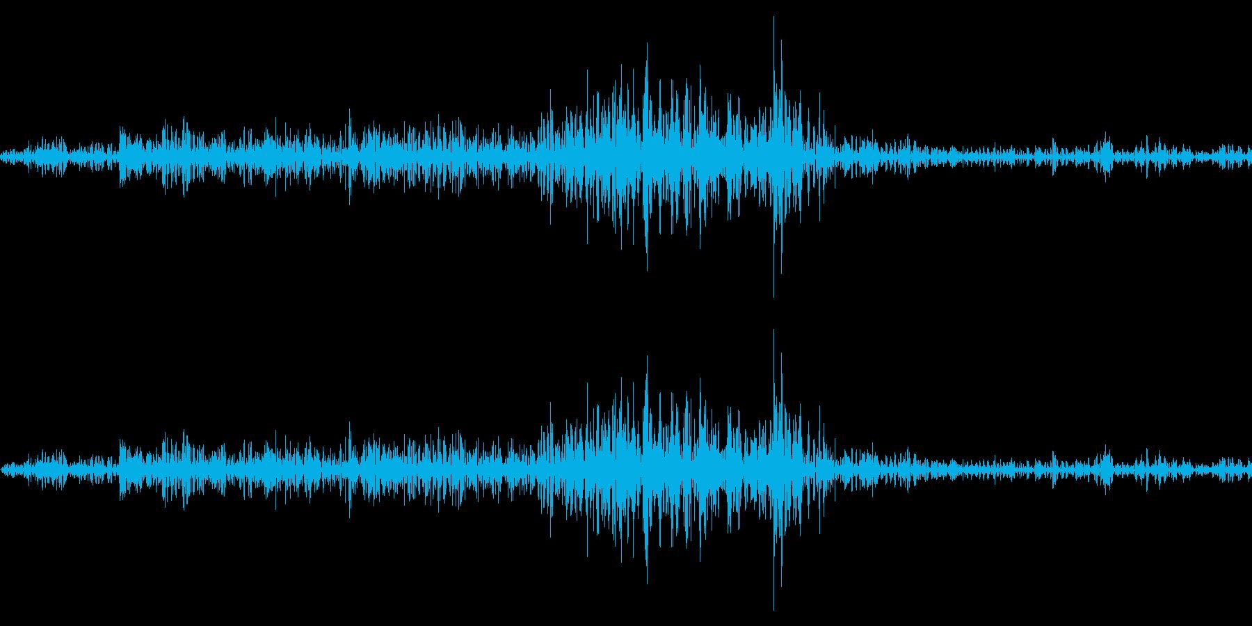 シュインの再生済みの波形