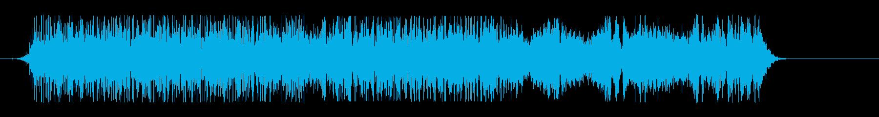 和風掛け声_コンビネーション3_Dryの再生済みの波形