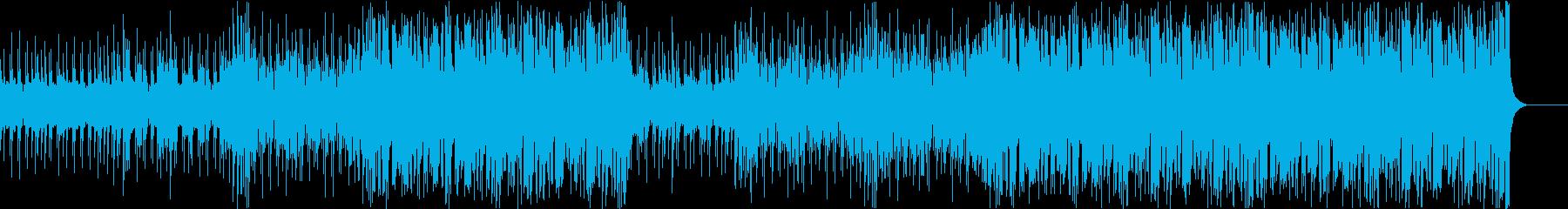 ノリがよくて盛り上がるブラスポップスの再生済みの波形