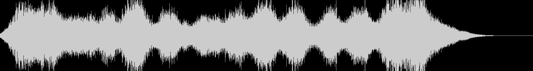 エレクトロニック アクション 技術...の未再生の波形