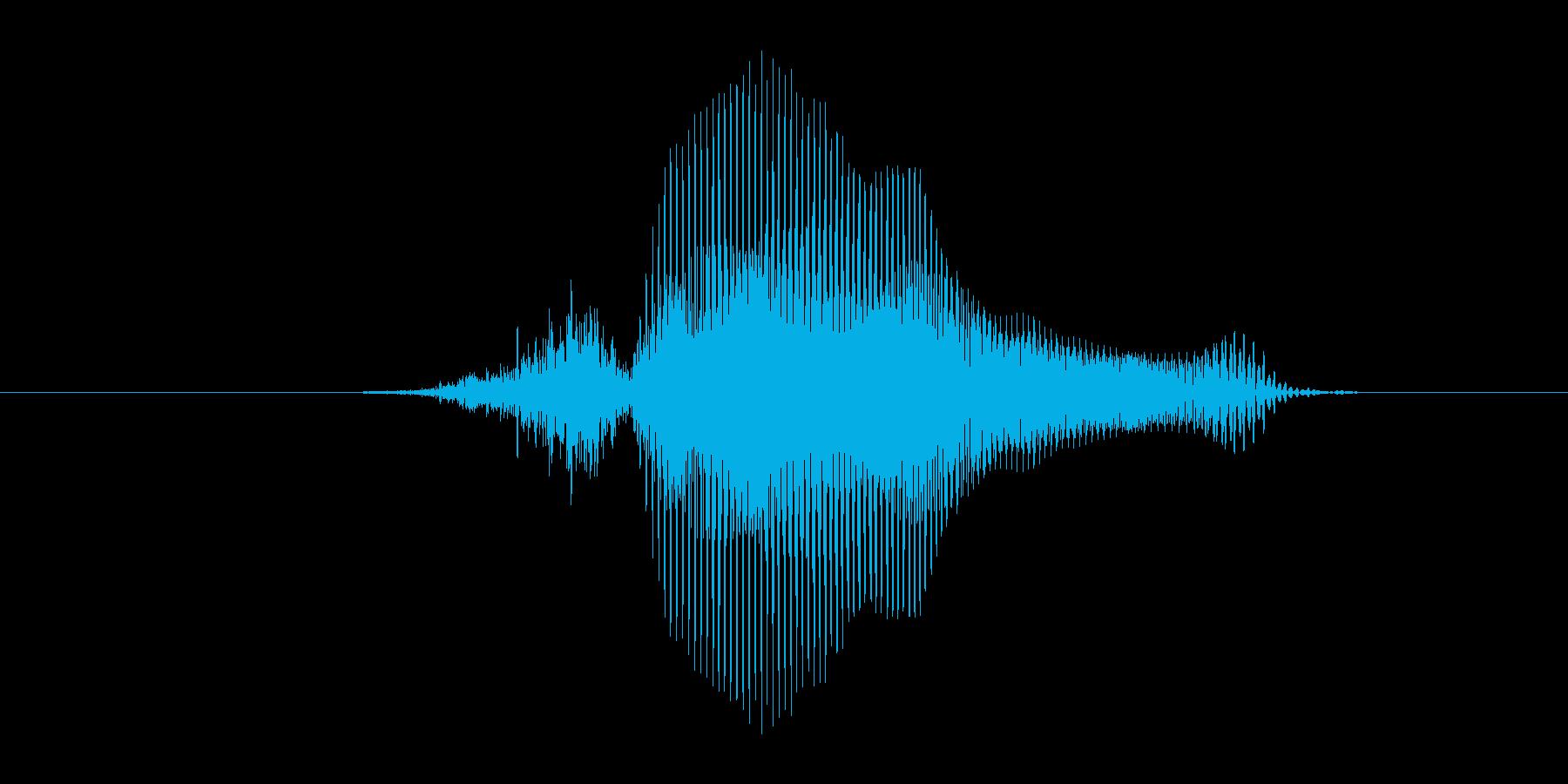 3(数字、女の子)の再生済みの波形