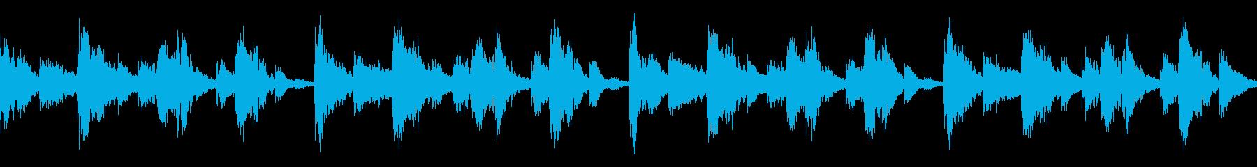 コミカルなループです。の再生済みの波形