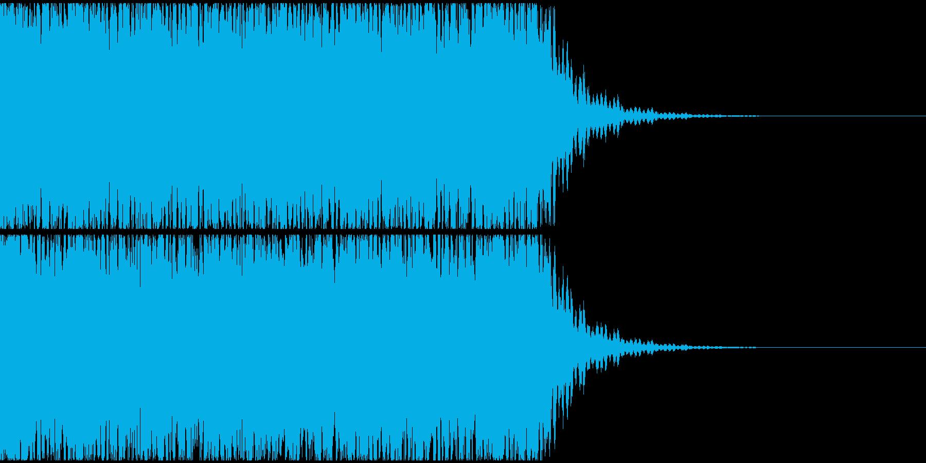 【エレクトロニカ】テクノ、ジングル2の再生済みの波形