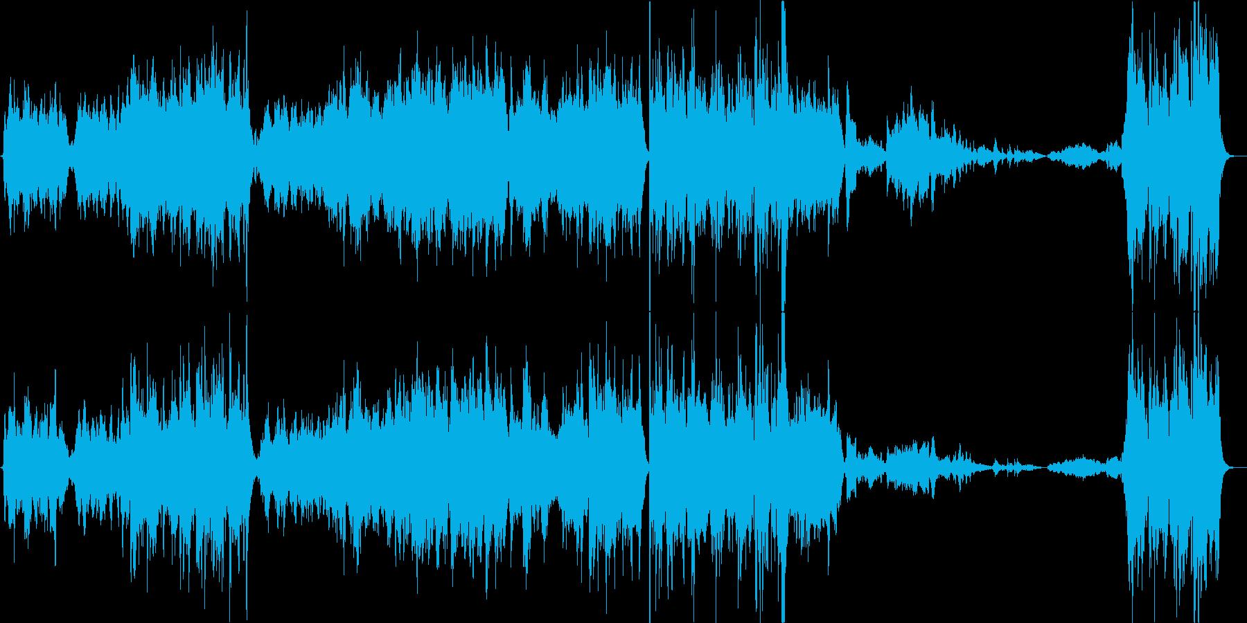 幻想的なバイオリン曲/バイオリン生演奏の再生済みの波形