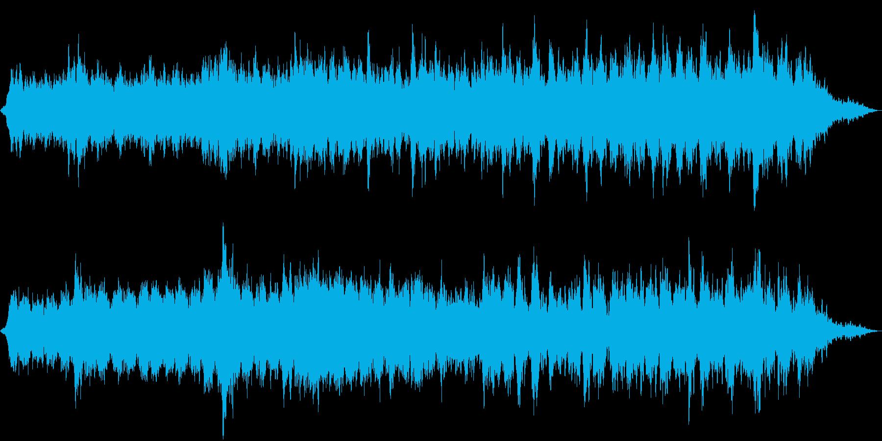 ヒーリングに適した広大な夜想曲の再生済みの波形