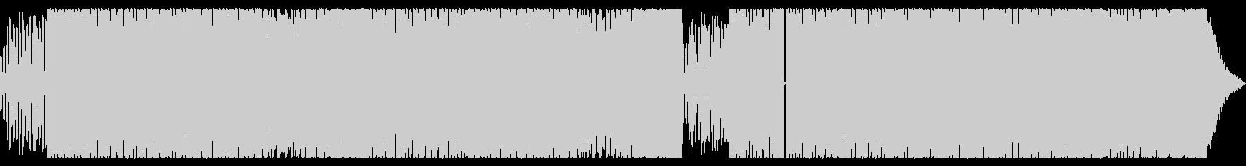 攻撃的なベースのかっこいいEDMサウンドの未再生の波形