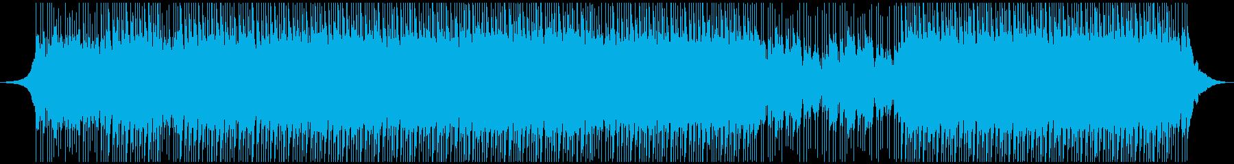明るい動機の再生済みの波形