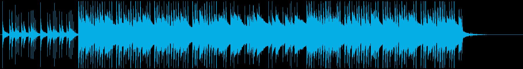 ライブベース、リズミカルループ、ピ...の再生済みの波形