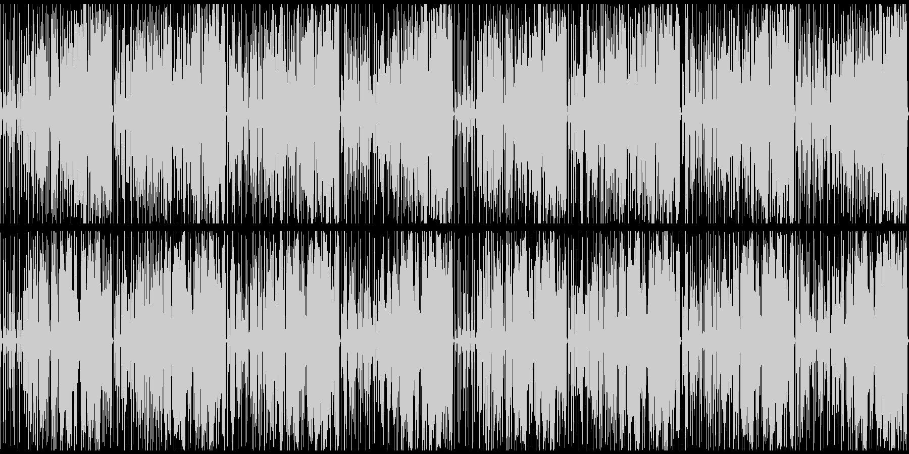 オシャレなフューチャーベースの未再生の波形