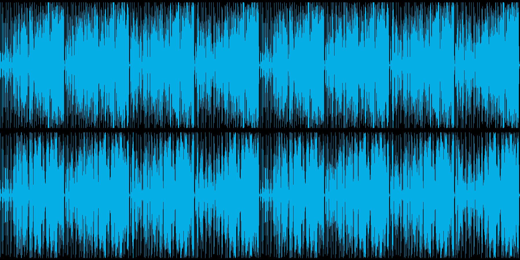 オシャレなフューチャーベースの再生済みの波形