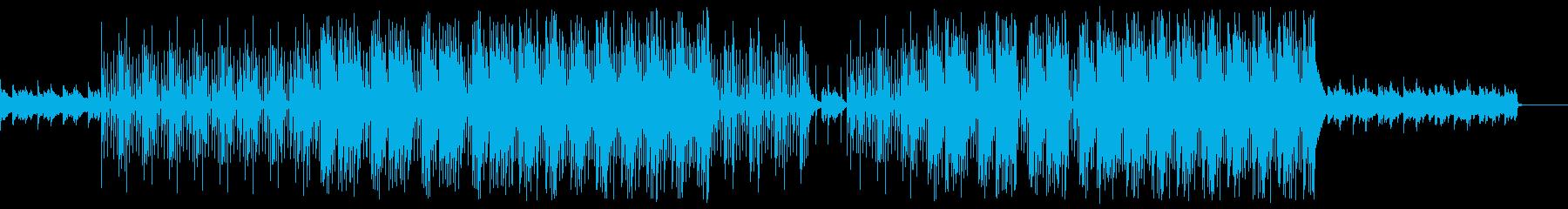 ダークな世界観 トラップビートの再生済みの波形