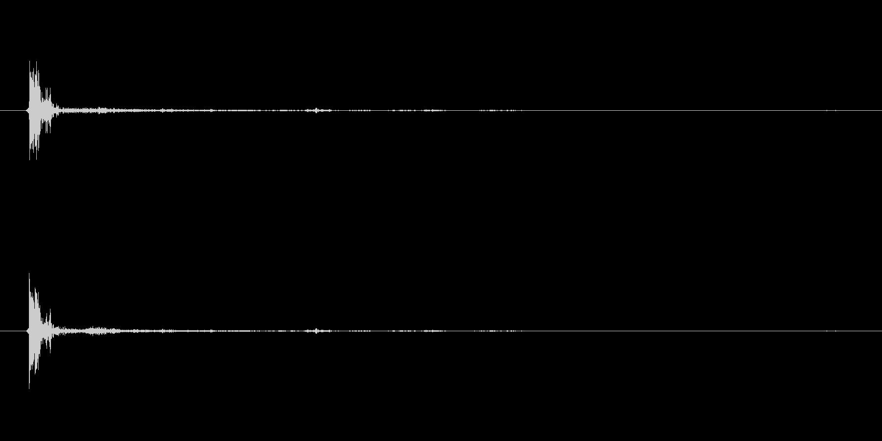 ライフル AK 47 エクステリア...の未再生の波形