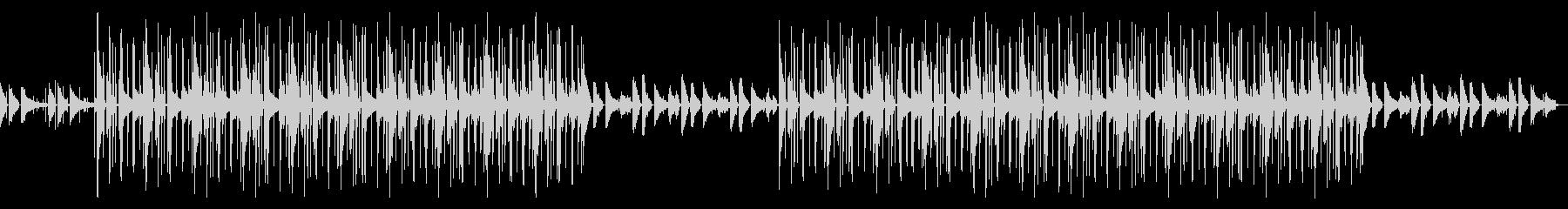 おしゃれなピアノlofi Hip Hopの未再生の波形