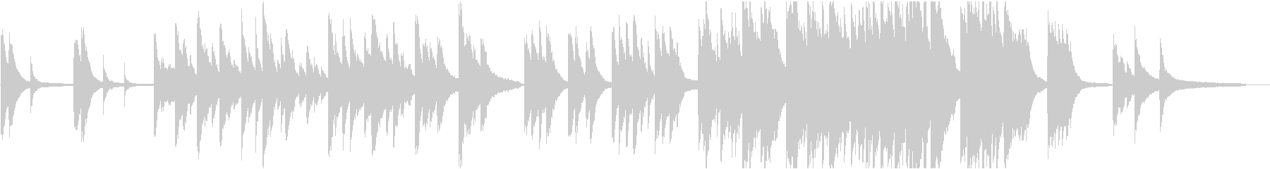 企業VP18 16bit44kHzVerの未再生の波形