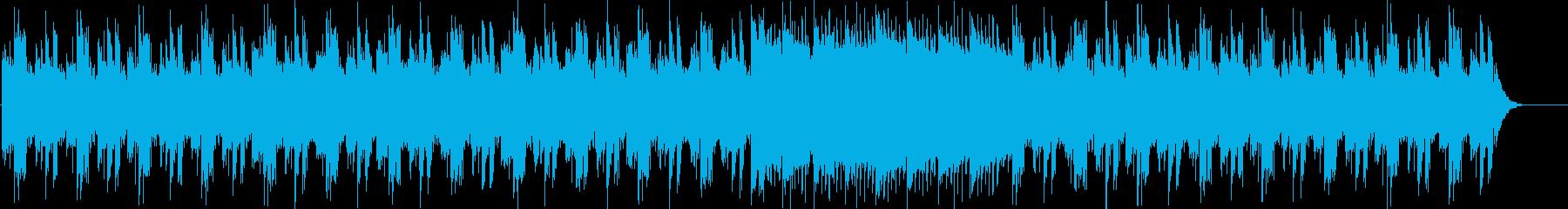 未来的でスタイリッシュなBGMの再生済みの波形