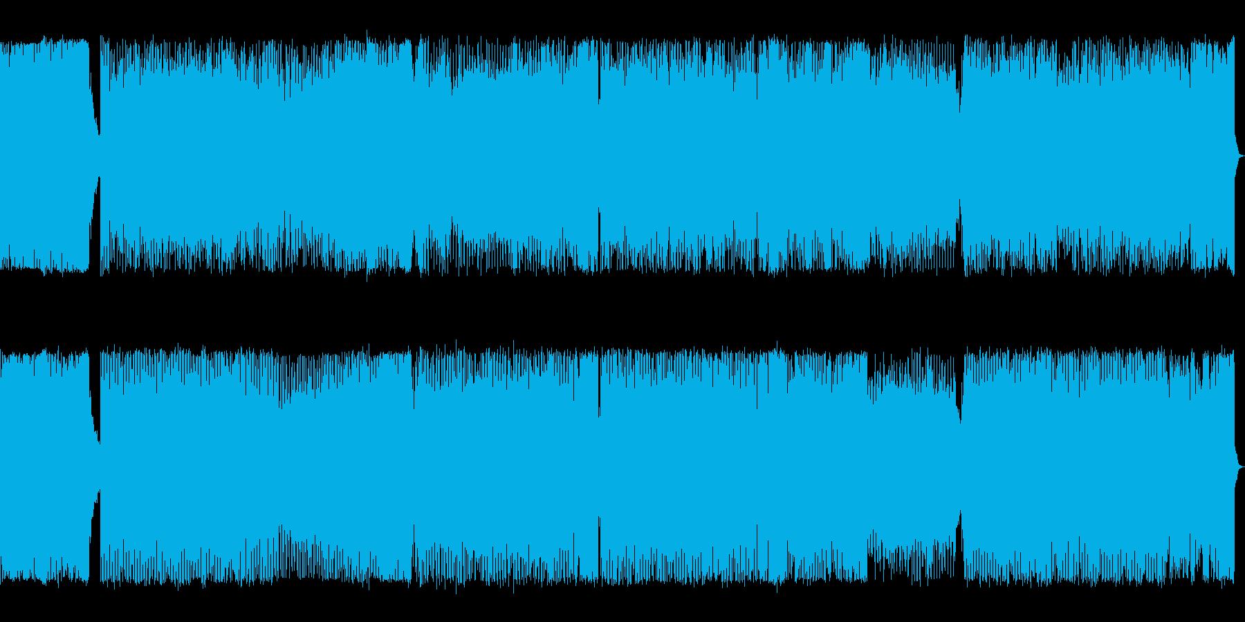 企業VPなどに最適な音楽 EDM の再生済みの波形
