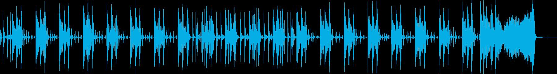 サスペンス・実験・検証な感じの再生済みの波形