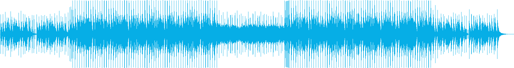 手拍子でノレる明るいEDMの再生済みの波形