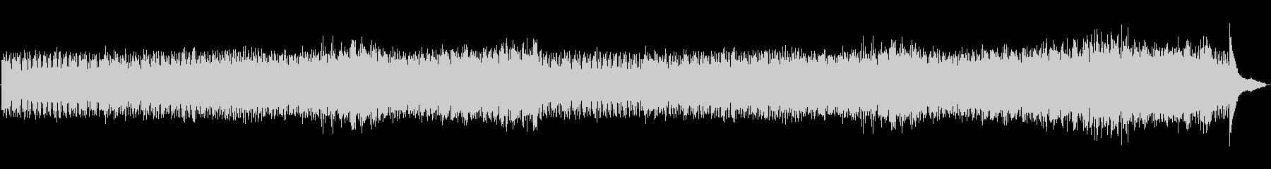 ピアノのバッハの活発な前奏曲01。の未再生の波形