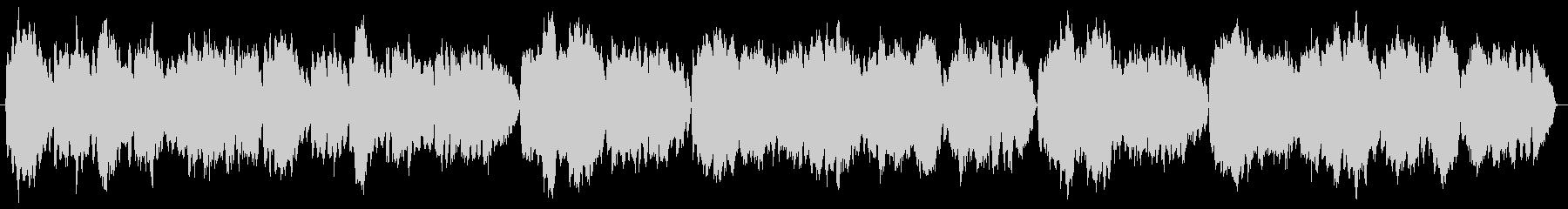 【バッハ】G線上のアリア(金管五重奏)の未再生の波形